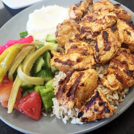 Taouk breast chicken plate